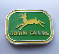 Wholesale Green color Newest desgin John deere BELT BUCKLE SW Y01