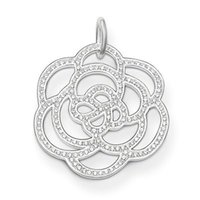 Cheap High quality for Women imitation diamond Flower Thomas Style pendant pe522-051-14 glam soul Free shipping
