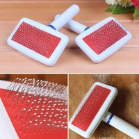 Wholesale Dense Needle Type Pets Comb Plastic Handle Pet Dog Comb Pet Dog Daily Hair Care Tool