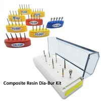 Wholesale Composite Resin Diamond Bur Kit Autoclavable Diamond Bur Stand