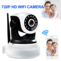 Wholesale Wireless Pan Tilt P Security Network CCTV IP Camera Night Vision WIFI Webcam