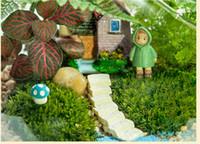 Wholesale Potted Plant Ceramic Pots Plant Pots Decorative Mini Flower Pots Latest Miniature Garden Ornament Decor Pot Diy Craft Accessories Dollhouse