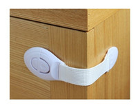 Wholesale 6pcs Baby Child Cupboard Cabinet Door Drawers Lengthened Safety Lock Latch Z219