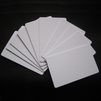 Wholesale 10 Waterproof White Color ID Cards Two Side Printable PVC Card x x0 mm For Epson T50 Canon Inkjet Printer