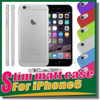 Wholesale Slim Matt Case for iphone iPhone cases Thin TPU Newest Soft matt Transparent TPU Gel Cover Cases For Iphone S Galaxy S5 Note