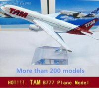 air railway - TAM B777 airlines air plane model cm Simulation metal airplane model aircraft model Toy Business Gifts