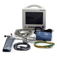Wholesale 8 inch ICU CCU Parameter Patient Monitor NIBP SPO2 ECG TEMP RESP PR New Arrival