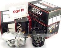 Wholesale 2 colors choose SLIVER BLACK Original color box and logo SQV4 BLOW OFF VALVE SQV4 TURBO BOV SQV4
