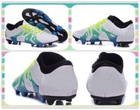 best drop ship products - New Product Drop Shipping Accepted Best Discount X Menace Pack FGAG Shoes Futbol Football boots Yellow Blue White New Boots Soccer Cleats