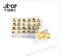 Wholesale One thousand groups Seiko Decorating Kit mouth bakeware Decorating Bag Decorating mouth boxed