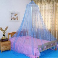 Wholesale Elegant Round Lace Insect Bed Canopy Netting Curtain Dome Mosquito Net