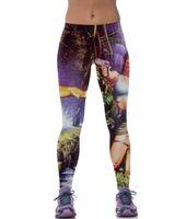 american comfort pants - 2015 new D printed Leggings Graverobber Laura tights slim slim pants breathable comfort