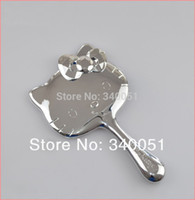 Wholesale 3pcs Hello Kitty Mirror Makeup Tool Cosmetic Mirrors Silver Color