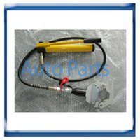 automotive hose fittings - Foot operated Hydraulic AC Hose Crimper tool kit automotive ac Hose fitting crimping machine