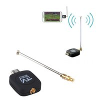 Wholesale High Quality DVB T Micro USB Tuner Mobile TV Receiver Stick For Android Tablet Pad Phone