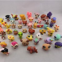 Wholesale action figures toy Littlest Pet Shop childrens toys for kids baby girls boys pet toy doll christmas gifts