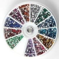 art track system - 1 mm Nail Art D DIY Rhinestones Decoration For UV Gel Acrylic Systems New order lt no tracking