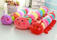big red birds - caterpillar huge big size cm plush animals insect red pink purple blue pp cotton stuffed or skin