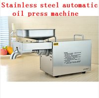 Wholesale Commercial Grade Stainless Steel Olive Oil Press Machine Nut Seed Automatic Oil Presser High Extraction