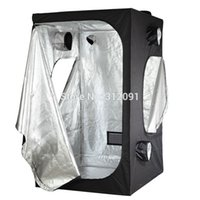 Wholesale US STOCK America Domestic Shipping Hot sale Reflective Mylar Hydroponics Grow Tent Green Dark Room Hydro Indoor quot x47 quot x78 quot