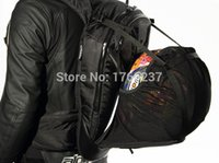 aero backpack motorcycle - New arrival Tech Aero Backpack embossed Motorcycle Backpack off road motorcycle helmet bags black