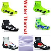 thermal protector - Winter Thermal New Pro Cycling Shoe Cover Cycling Overshoes Team Shoe Case Road Cycling Shoe Protector