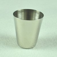 goblet - Mini ML ML ML High Quality Stainless Steel Wine Goblet Cup Stemware Drinks Cup Martini Drink Bar Party Drinkware