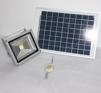 Cheap smart solar Flood light system battery+150w 5050*16 LED floodlight+10 W solar panel with Remote Controller