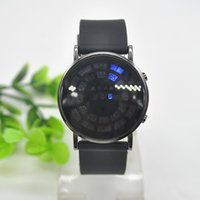 balls silicone watch - Hot Selling Unisex Blue LED Light Watch Charm Noctilucent Roll Ball Style Display Watches Calendar Wristwatch FYMPJ754A1