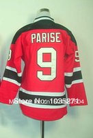 Wholesale Zach Parise Kids Youth Jersey Ice Hockey Jersey Best quality Authentic Jersey Size S XL Accept Mix Order