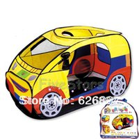 Cheap Free Shipping Good Quality Cute Chilren's Car Shaped Play Tents Play Houses The Brand Gift for kids Boys Child Indoor Outdoor