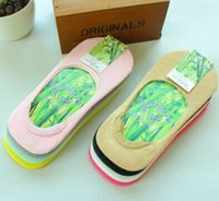 Wholesale Women s Loafer Boat Liner Low Cut No Show Bamboo Fiber Socks pairs pack