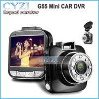 advanced camcorder - G55 Mini CAR DVR camera P FULL HD Inch Degree Angle Lens G Sensor Night Vision Function Advanced Portable Camcorder