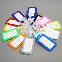 bag name tags - 10pc Anti loss Mix Luggage Suitcase Bag Baggage Name Address ID Label Tags