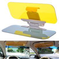auto shade - Auto Car Sun Visor TWO WAY Windshield Shade Day and Night Sunshade Diving Goggles Car Transparent Anti glare Glass sunshade