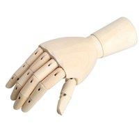 alternative artists - 186cm Wooden Artist Articulated Right Hand Manikin Model Gift Art Alternatives SKETCH Hand Flexible Decoration Decoracao