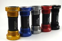Wholesale bicycle axis MTB road cycling Bottom bracket g black red blue golden titanium mm BB