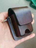 custom lighter - 100 custom handmade leather lighter brown leather tanning Italy leather price include carriage Magnetic suction buckle