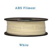 abs plastic extruder - DeWang R White D Printer ABS Plastic Filaments extruder kg Roll for d printing Pen Consumables order lt no track