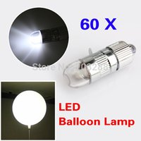 Cheap Lot of 60x White LED Party Decoration Lights For Paper Lanterns Balloons Floral Free Shipping