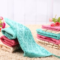 bath goods - Microfiber Good water imbibition Soft Baby Newborn Children Bath Towels hand towe