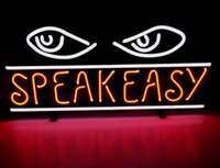 al real - Fishes Speak Easyy Al Capone Gangsters Chicago Handcrafted Custom Real Glass Tube Neon Beer Bar Dsico KTV Neon Signs Free Design quot X12 quot