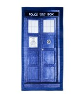 Wholesale Doctor Who Tardis Beach Bath Towel quot Cotton