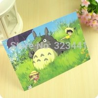 animated post - X95mm pcsx4lot single page poster postcard Totoro animated cartoon post card to Students baby order lt no track
