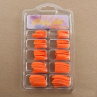 Wholesale Popular Fashion French Style Artificial Full Nail Art False Fake Tips Half Acrylic Gel Kit