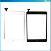 Wholesale 20PCS For iPad mini Touch Screen Digitizer Assembly Touch Panel Fornt Glass Lens Replacement Part for iPad Flex Home Button DHL