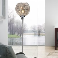 Wholesale New modern fashion brief Luxury k9 modern crystal floor lamps lighting for living room