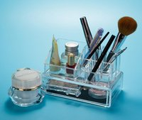 Wholesale New Style Jewelry Box Crystal Cosmetic Boxes Luxurious Transparent Women Crystal Cosmetic Boxes Jewelry Storage Boxes