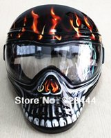airsoft mask goggles - Ghost Stalker Dope Airsoft Paintball Anti Fog Lens Mask Goggles Red