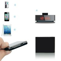 Wholesale Essential New Mini Bluetooth Music Audio Pin Receiver Adapter For iPod for iPhone Dock Speaker Nov12